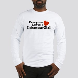 Everyone Loves a Lebanese Girl Long Sleeve T-Shir