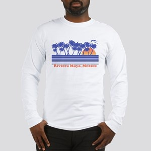 Riviera Maya Mexico Long Sleeve T-Shirt