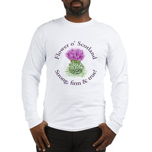 54c3cd43a Thistle Men's Long Sleeve T-Shirts - CafePress