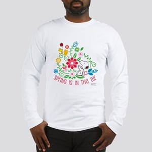 Snoopy Spring Long Sleeve T-Shirt