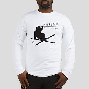 117f6b35 Ski Jackson Hole, Wyoming Long Sleeve T-Shirt