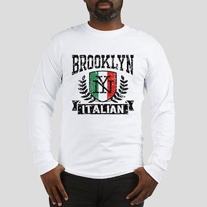 4a32d923a Brooklyn NY Italian Long Sleeve T-Shirt