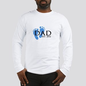 Dad Est 2012 Long Sleeve T-Shirt