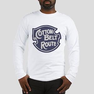 Cotton Belt Railway logo Long Sleeve T-Shirt