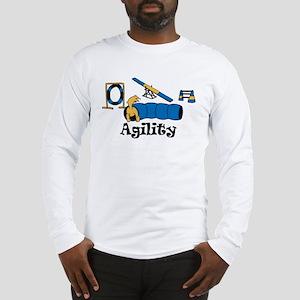 Agility Dog Long Sleeve T-Shirt