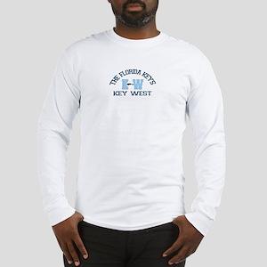 Key West - Varsity Design. Long Sleeve T-Shirt