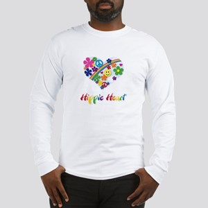 Hippie Heart Long Sleeve T-Shirt