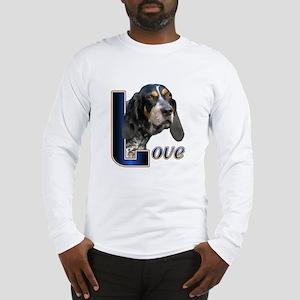 Bluetick Coonhound Love Long Sleeve T-Shirt