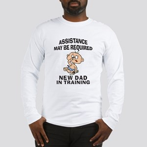New Dad In Training Long Sleeve T-Shirt