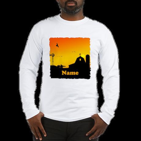 Sunrise at the Farm Long Sleeve T-Shirt