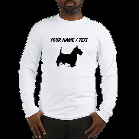 Custom Scottish Terrier Long Sleeve T-Shirt