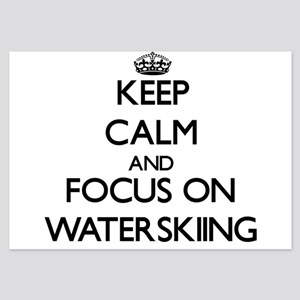 Keep Calm by focusing on Waterskiing Invitations