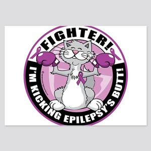 Epilepsy-Fighter-Cat Invitations