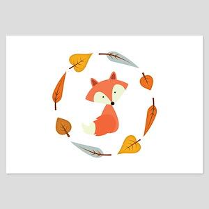 Sweet Autumn Fox Invitations