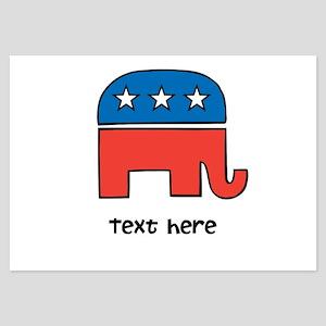 Customize the Republican Elephant Invitations