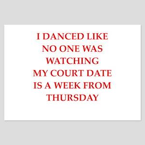 dancing 3.5 x 5 Flat Cards
