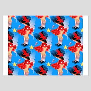 Hello Pretty - 3.5 X 5 Flat Cards Invitations
