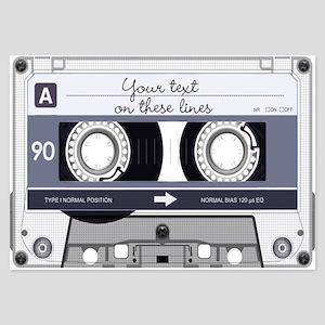 Customizable Cassette Tape - Gr 3.5 x 5 Flat Cards