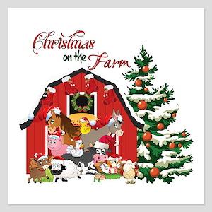 Christmas on the Farm Invitations