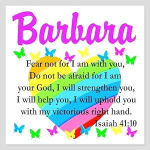 JOYOUS ISAIAH 41:10 5.25 x 5.25 Flat Cards