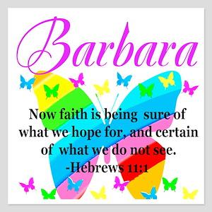 HEBREWS 11:1 5.25 x 5.25 Flat Cards