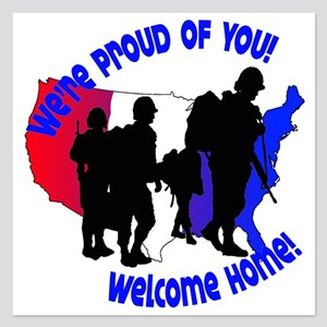 Welcome Home:We're Proud of You! Invitations