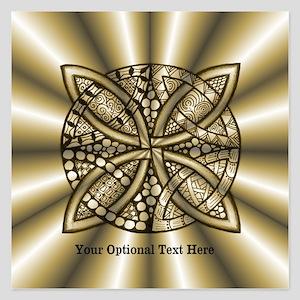 Customizable Celtic Knot Go 5.25 x 5.25 Flat Cards