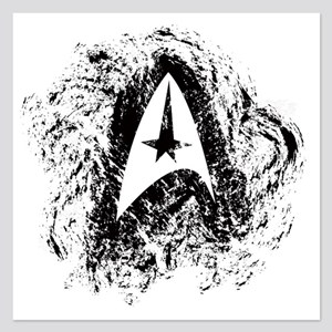 Star Trek Insignia Art 5.25 x 5.25 Flat Cards