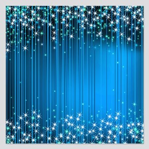 Star Beams- 5.25 X Flat Cards Invitations