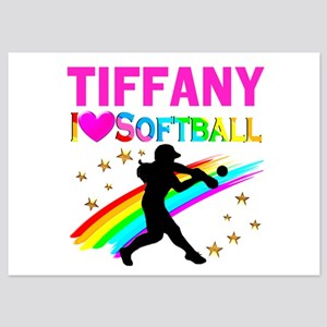 SOFTBALL STAR 5x7 Flat Cards