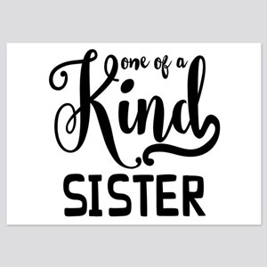 One Of A Kind Sister 5x7 Flat Cards
