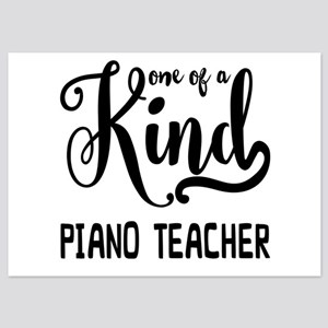 One of a Kind Piano Teacher 5x7 Flat Cards