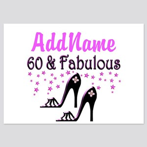 60 & A SHOE QUEEN 5x7 Flat Cards