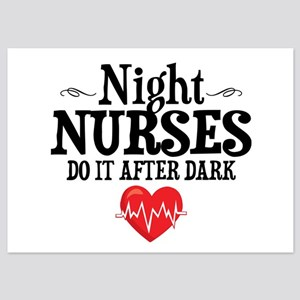 Night Nurse 5x7 Flat Cards