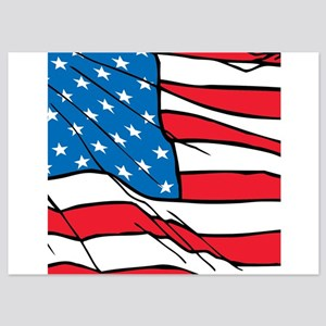 US Flag Cropped Invitations