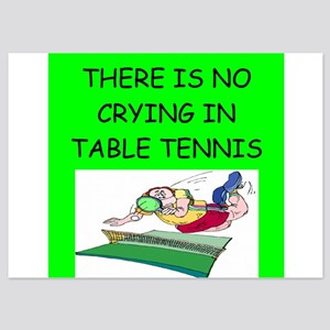 table tennis gifts 5x7 Flat Cards