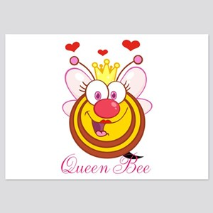 Personalizable Queen Bee 5x7 Flat Cards