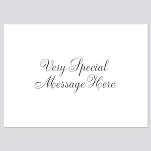 Very Special Message Here Invitations