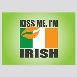 Kiss Me I'm Irish 5x7 Flat Cards