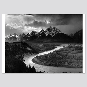 Ansel Adams The Tetons and the Snake R Invitations