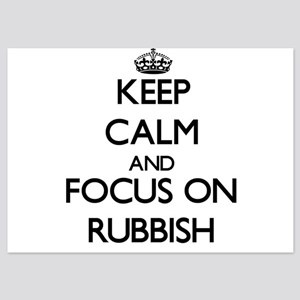 Keep Calm and focus on Rubbish Invitations