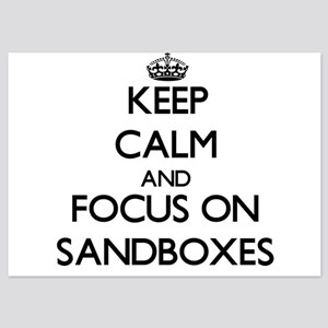 Keep Calm and focus on Sandboxes Invitations