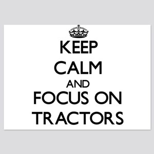 Keep Calm by focusing on Tractors Invitations
