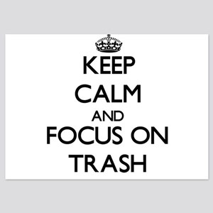Keep Calm by focusing on Trash Invitations
