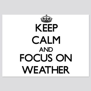 Keep Calm by focusing on Weather Invitations
