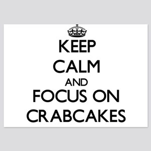 Keep Calm by focusing on Crabcakes Invitations