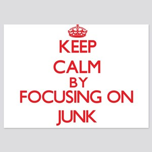 Keep Calm by focusing on Junk Invitations