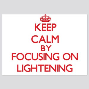 Keep Calm by focusing on Lightening Invitations