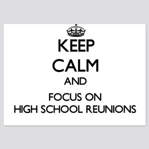 Keep Calm by focusing on High School R Invitations