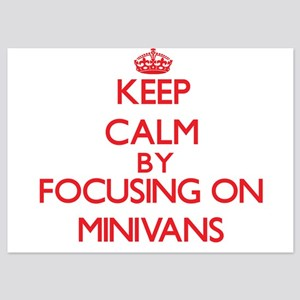 Keep Calm by focusing on Minivans Invitations